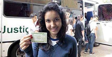 Jovem Eleitor em 22.10.2013